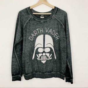 Star Wars   Darth Vader Burnout Sweatshirt